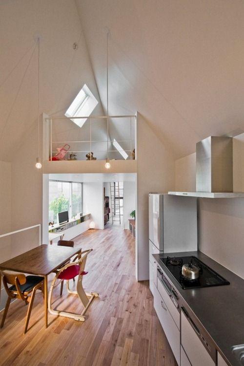 River Side House 8 Arquitectura Inteligente de Casas Pequeñas en Tokio