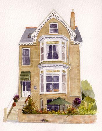 Cornish Guesthouse Portrait