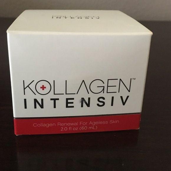 Moisturizer Kollagen intensiv moisturizer brand new in box never opened. Kollagen intensiv  Makeup