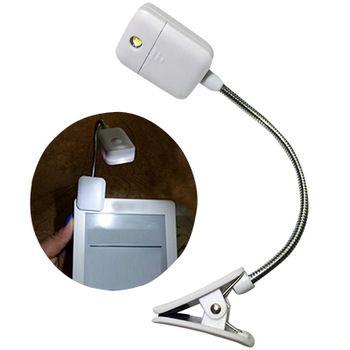 Светодиодная лампа для чтения, с зажимом