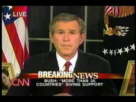 bushs speech before the war on iraq The mission accomplished speech was a televised address by united states   iraq war opponents have used the phrase mission accomplished  104 when  president bush gave his mission accomplished speech.
