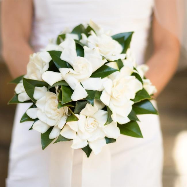 Цветов, букет невесты из гардении