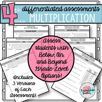 Differentiated Multiplication Tests