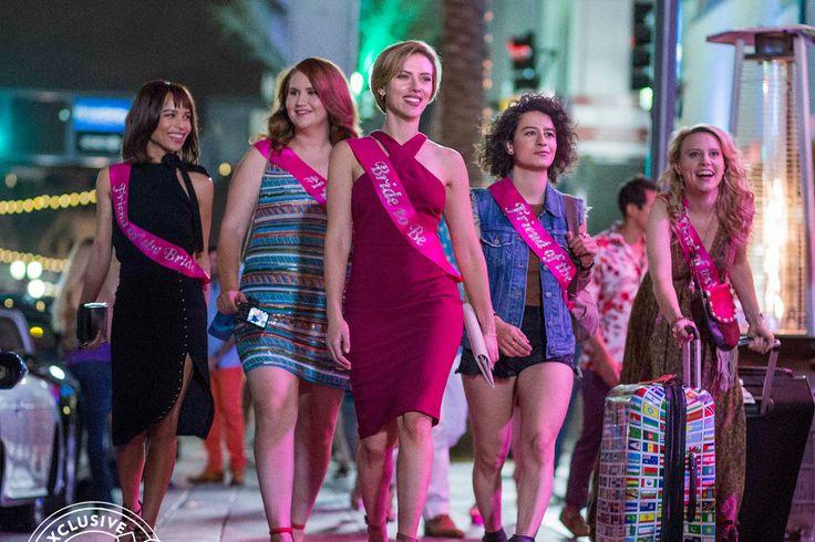 Zoë Kravitz Jillian Bell Scarlett Johansson Ilana Glazer and Kate McKinnon in 'Rough Night' (June 16 2017) http://ift.tt/2m0fm7m #timBeta