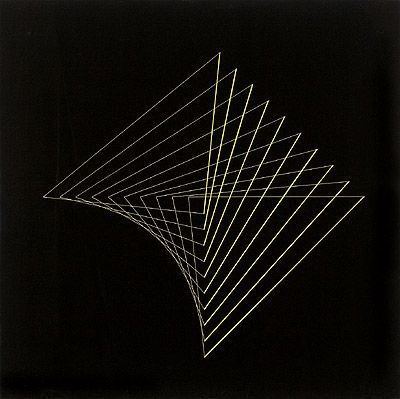 Composição 1959   Lothar Charoux guache sobre cartão 50.00 x 50.00 cm