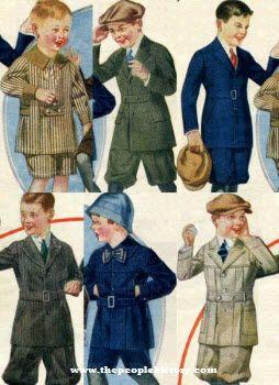 boys clothing 1920s