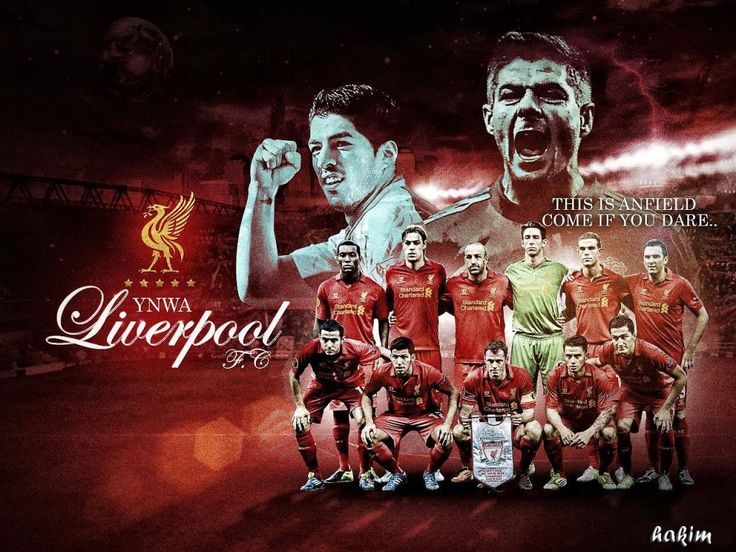 Liverpool FC 2012-2013 HD Best Wallpapers
