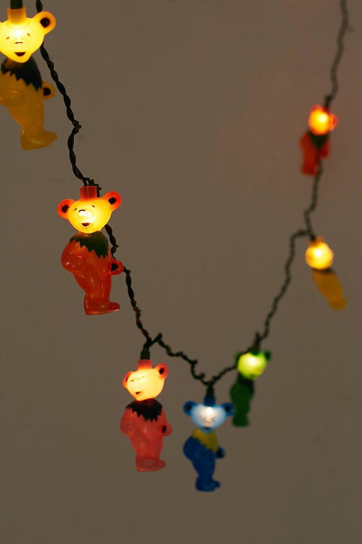Slide View: 3: Grateful Dead Dancing Bear String Lights