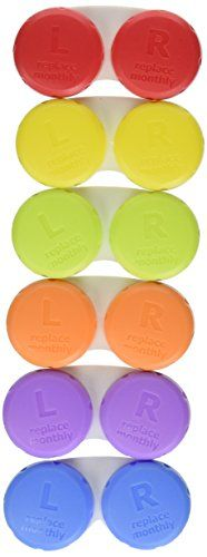 Equate Contact Lens Cases 6-Pack | ProHealthCure