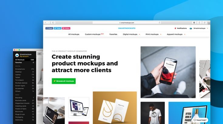 Create stunning products screenshots without in