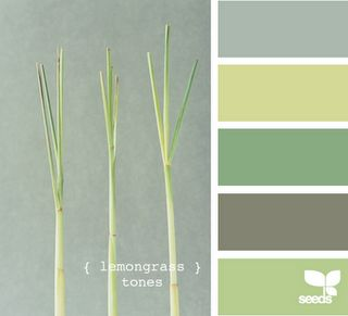 either bedroom or guest room colors. i love grey and green!