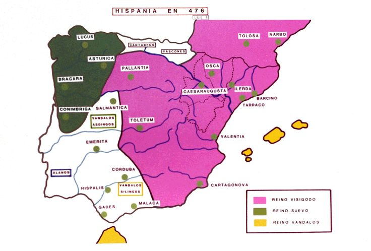 En el siglo V, a la caída del Imperio Romano, llegan a Galicia los Suevos, creando el Reino de Galicia, primer estado de Europa. MUNDIARIO inicia la publicación de una historia de Galicia revisada.