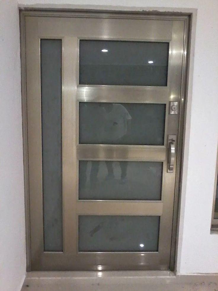 Puerta de aluminio canceles ventanas barandales domos - Persianas para banos ...