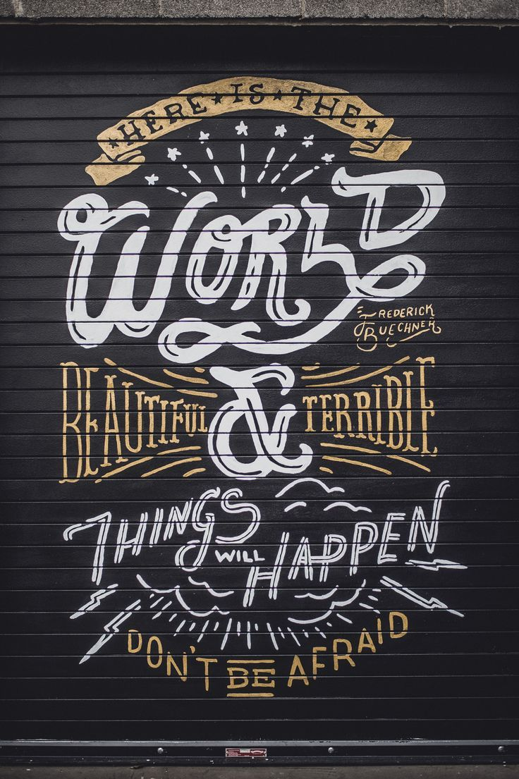 26 Stunning Hand-Lettering & Calligraphy Designs on www.fromupnorth.com