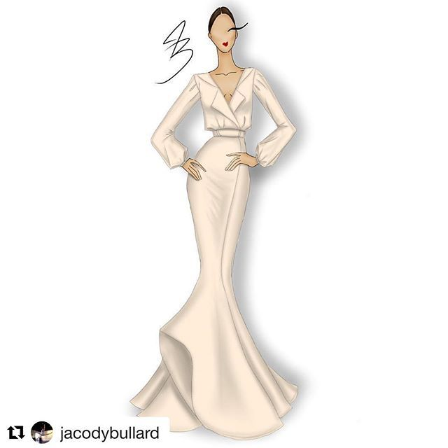 #Repost @jacodybullard with @repostapp Design by @jacodybullard #original #fashion #design #designer #couture #new #old #fun #paint #style #art #artist #sketch #dress #hair #gown #makeup #love #live #color #shoes #nyfw #me #instagood #instafashion #instamood