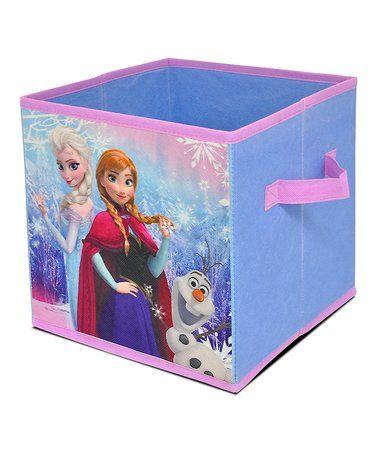 Look at this #zulilyfind! Frozen 10'' Collapsible Storage Cube #zulilyfinds