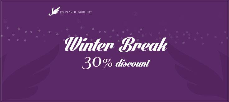 JW's Winter Promotion for Plastic Surgery  #rhinoplasty #plasticsurgery #jwplasticsurgery #jw #fatinjection #nosejob #korea #seoul #apgujung #gangnam #epicanthoplasty #blepharoplasty #breastsurgery #harvestjet #mandiblesurgery #mandiblereduction #fatgraft #eyelidsurgery #ptosiscorrection #doubleEyelids #zygoma #osteotomy #genioplasty #breast #breastsurgery #breastaugmentationb #mammoplasty #events #JWevent