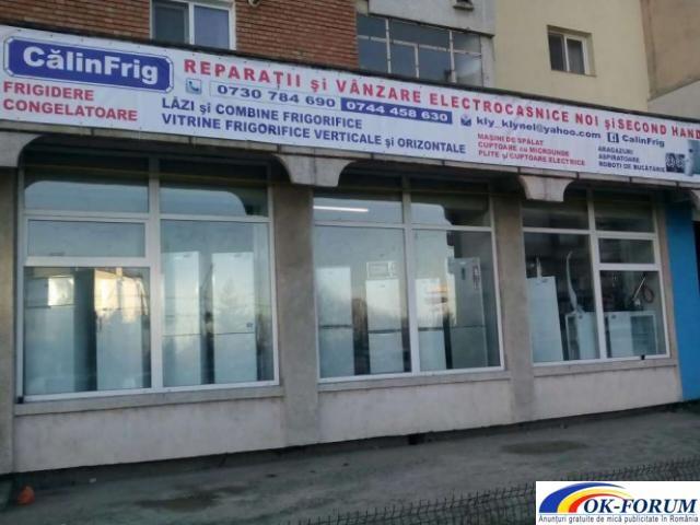 MAGAZIN DE ELECTROCASNICE, frigidere si congelatoare noi si sh. | Ok-forum.ro - Anunturi gratuite de mica publicitate in Romania. | Frigidere Congelatoare | Pitesti | Arges | Romania