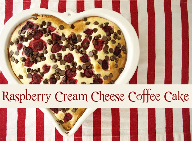 Raspberry Cream Cheese Coffee Cake - Less-Than-Perfect Life of Bliss