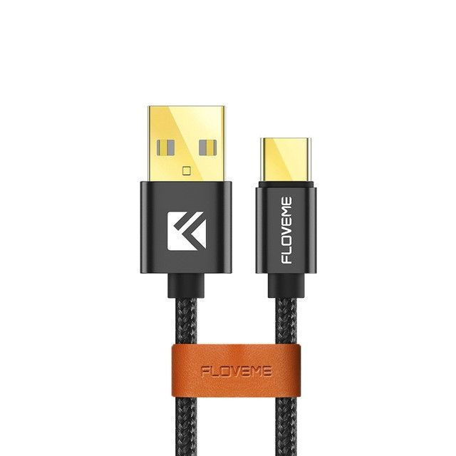 FLOVEME USB Type C For Samsung Galaxy Charger Cable