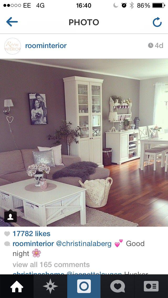Love this! Grey in a house is sooooo lush!