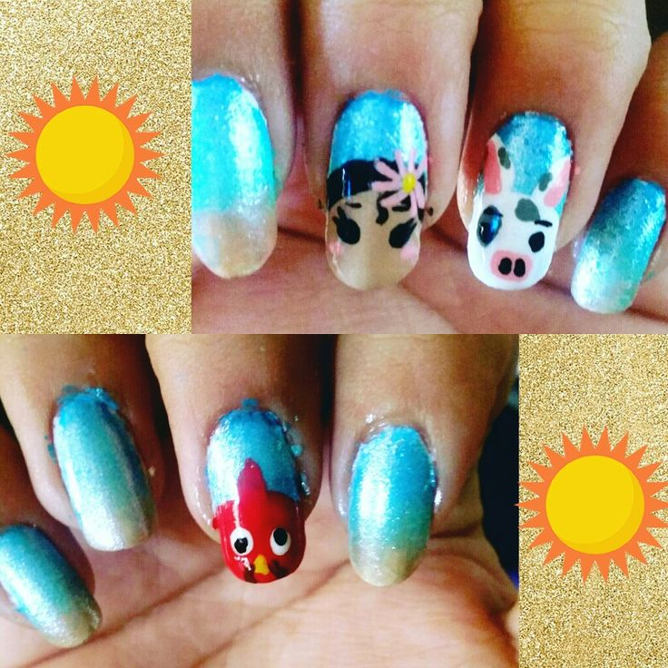 Moana Disney Nails Designs: 864 Best Images About Nails On Pinterest