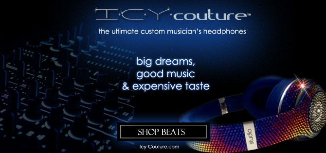 Crystal Headphones | Customize Beats | Bling Monster Headphones - ICY COUTURE