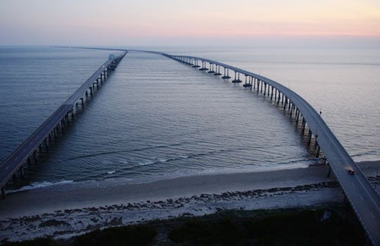 Chesapeake Bay Bridge-Tunnel, Virginia