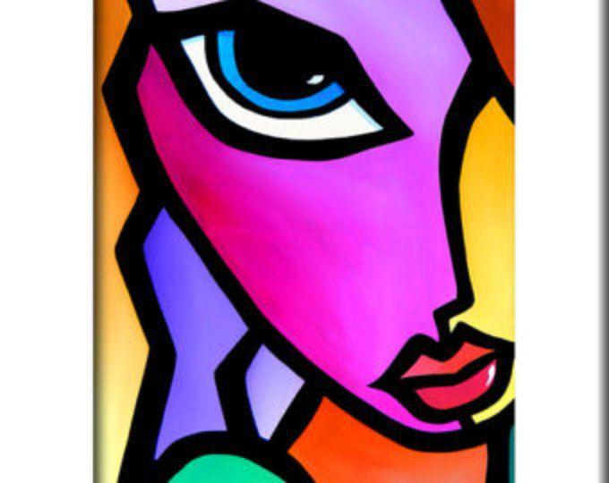 Peinture abstraite moderne pop Art print
