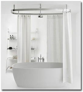 shower curtain for bathtub. Bathroom Curtains 18 Best Images On Pinterest