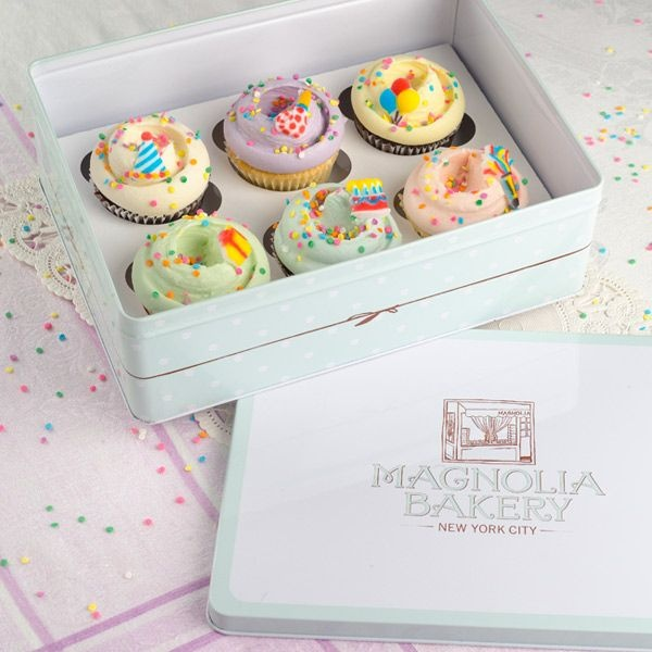 Decorated Cakes Birthday Cupcakes Nyc From Magnolia Bakery NYC Make The Best Gifts My