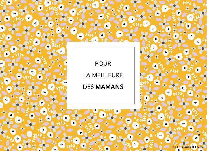 Fête des mères : cocotte et étiquettes à imprimer - Vie de Miettes