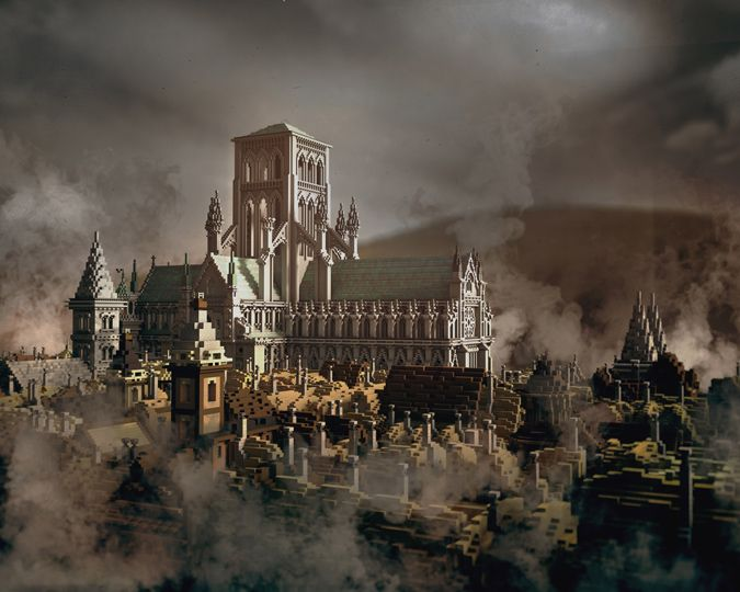 A set of new maps for Minecraft recreate the City of London at the time of the Great Fire in 1666. Explore the city, fight the fire and help rebuild.