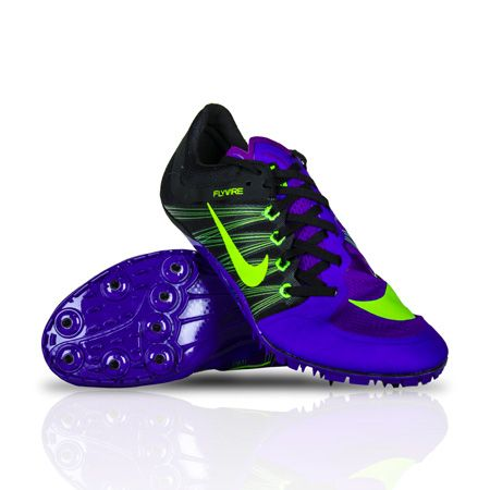 Designed and tested with the world's fastest sprinters. Sprint spike designed for the most support in a minimal and light package.UPPER: Ultra-lightweight synthetic leather combined with Flywire technology provides a glove like fit.MIDSOLE: Low-profile Phylon midsole wedge for cushioning.OUTSOLE: Aggressive and rigid spike plate with eight receptacles and risers.This product cannot be exported.MENS SIZING. WOMEN SUBTRACT 1.5 SIZES (A WOMENS 7 IS A MENS 5.5)