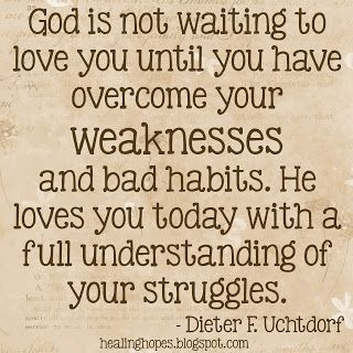 Healing Hope: He loves you today...