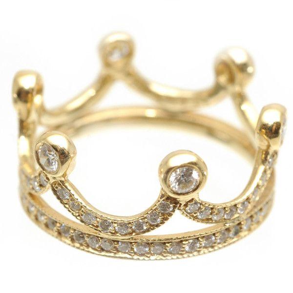 Anel de coroa para usar no dedão!