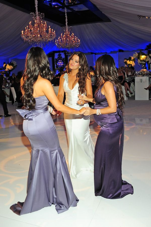 i am srsly obsessed with khloe k's reception dress. #halp
