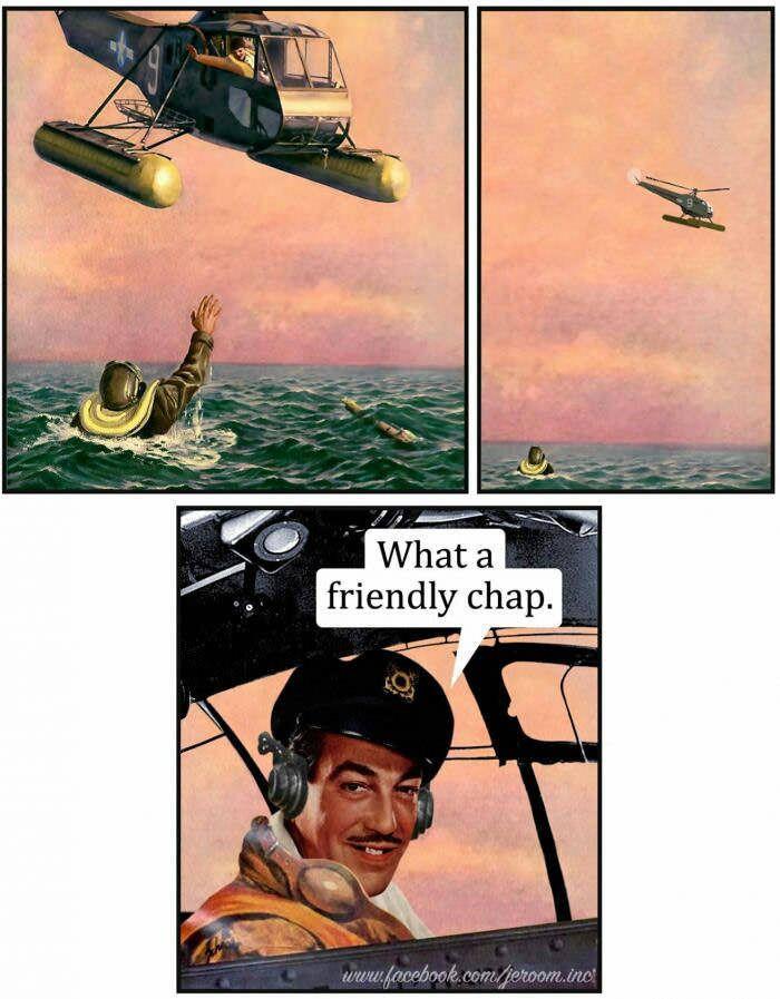What A Friendly Chap