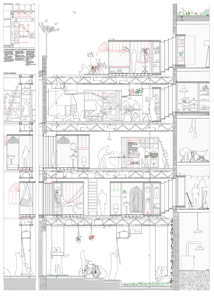 Architectural Drawing Materials 106 best architectural sections + elevations images on pinterest