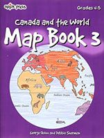 Canada Map Book 3 - Grade 4-5 - Northwoods Press