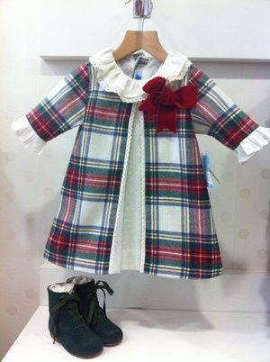 Vestido escocés BC