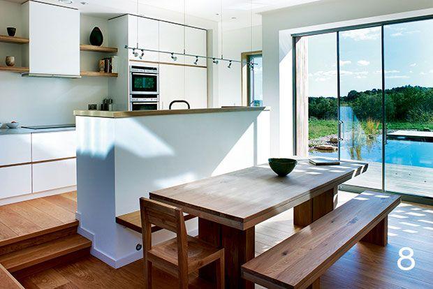 25 best split level kitchen ideas on pinterest raised - Designs for kitchen diners open plan ...