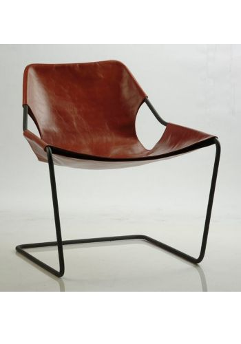 Paulistano chair - Terracotta leather cover