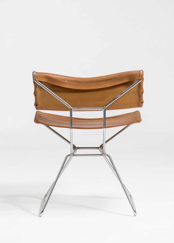 Angelo Mangiarotti 'Tensio' chair. Manufactured by Skipper 1989. angelo mangiarotti's photograph – courtesy of the angelo mangiarotti foundation