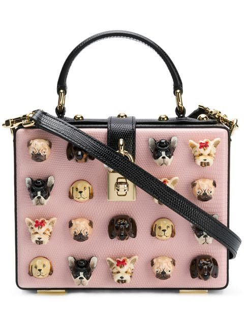 028633328f4a Dolce   Gabbana Dog Heads Shoulder Bag - Farfetch