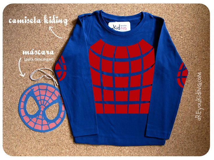 careta descargable de spiderman http://areyoukiding.com/camisetas-disfraz-cocineros-y-superheroes/