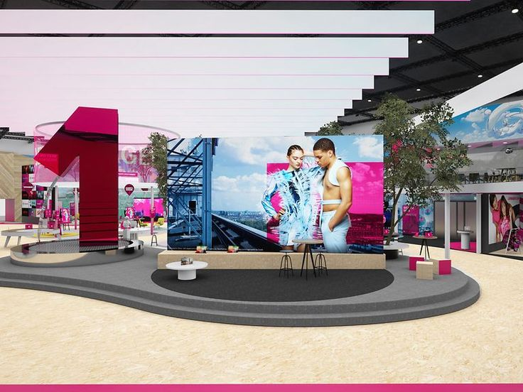#JETZTMAGENTA – Deutsche Telekom spearheads the digital revolution   Products and services displayed at the stand for fun-and-games extravaganza   Thr
