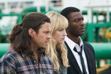 Leverage -- Eliot, Parker, Hardison the only characters anybody really cares about