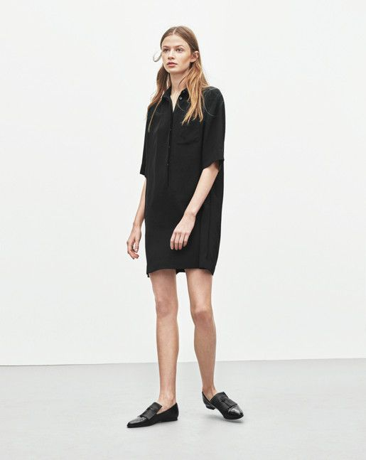 Drapey Pull On Shirt Dress - Dresses - Shop Woman - Filippa K