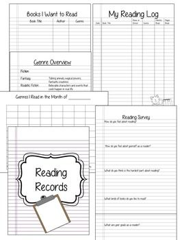Reading Workshop BinderThis resource will help you set up your reading workshop at the beginning of the year, and help students keep their reading workshop materials organized all year long! readers workshop notebook